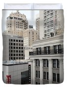Downtown San Francisco Buildings - 5d19323 Duvet Cover by Wingsdomain Art and Photography