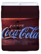 Drink Coca Cola Duvet Cover by Garry Gay