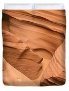Drowning in the sand - Antelope Canyon AZ Duvet Cover by Christine Till