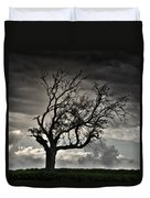 Dry Sunset Duvet Cover by Stelios Kleanthous