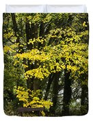 Dun Na Ri Forest Park, County Cavan Duvet Cover by Peter McCabe