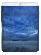 Dusk On Fire Island Duvet Cover by Rick Berk