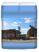Eagles - The Linc Duvet Cover by Bill Cannon