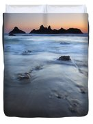 Ebb Stones Duvet Cover by Mike  Dawson