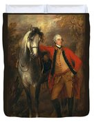 Edward Viscout Ligonier Duvet Cover by Thomas Gainsborough