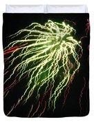 Electric Jellyfish Duvet Cover by Rhonda Barrett