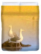 End of the Day Duvet Cover by Betty LaRue