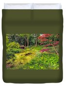 English Garden  Duvet Cover by Adrian Evans