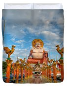 Entrance To Buddha Duvet Cover by Adrian Evans