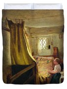 Evening Prayer  Duvet Cover by John Bagnold Burgess
