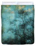 Evening Sky Duvet Cover by Judi Bagwell