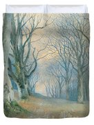 Fairies and Squirrels Duvet Cover by Richard Doyle