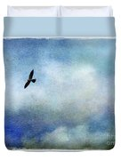 Far Above Duvet Cover by Judi Bagwell