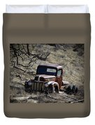 Farm Fresh Ford Duvet Cover by Steve McKinzie