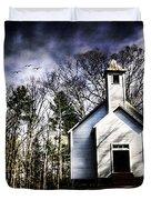 Fear Duvet Cover by Darren Fisher