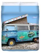 Feelin' Groovy Duvet Cover by Kristin Elmquist