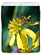 Firefly Fornication 2 Duvet Cover by Douglas Barnett