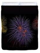 Fireworks Duvet Cover by Joana Kruse