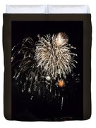 Fireworks Duvet Cover by Michelle Calkins