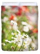 Flower Meadow Duvet Cover by Elena Elisseeva