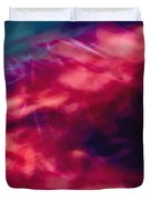 Flowers In The Wind Duvet Cover by Skip Nall