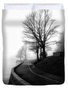 Foggy Day V-6 Duvet Cover by Mauro Celotti