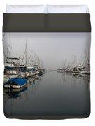 Foggy Morn Duvet Cover by Heidi Smith