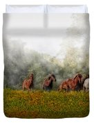 Foggy Morning Duvet Cover by Susan Candelario