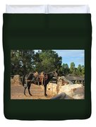For The Ride Down Duvet Cover by Heidi Smith