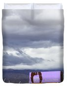 Forever Palm Springs Duvet Cover by William Dey