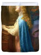 'Forget me Not' Duvet Cover by Arthur Hughes