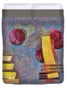 Formes - 08a Duvet Cover by Variance Collections