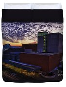 Fox Cities Performing Arts Center Duvet Cover by Joel Witmeyer