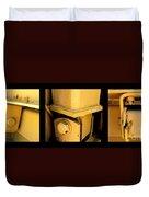 Frankenstein Duvet Cover by Marlene Burns