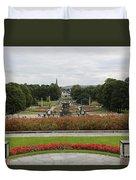 Frogner Park Duvet Cover by Carol Groenen