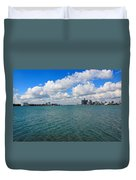 From Belle Isle With Love Duvet Cover by Robin Konarz