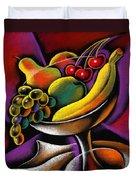 Fruits Duvet Cover by Leon Zernitsky