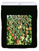 Garden Noah Bells Duvet Cover by Cheryl Young