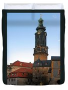 Gatehouse Weimar City Palace Duvet Cover by Christine Till