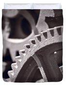 Gears Number 3 Duvet Cover by Steve Gadomski