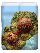 Geminivirus Particle Duvet Cover by Russell Kightley