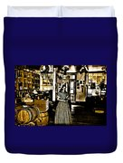 General Store Harpers Ferry Duvet Cover by Bill Cannon