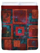 Geomix 02 - Sp07c03b Duvet Cover by Variance Collections