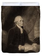George Washington, 1st American Duvet Cover by Photo Researchers