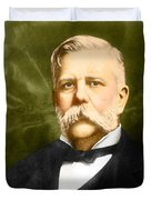 George Westinghouse Duvet Cover by Photo Researchers