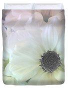 Gerbera Softness       Duvet Cover by Kaye Menner