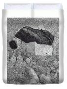 Gila Cliff Dwelings Big Room Duvet Cover by Jack Pumphrey