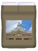 Giles County Courthouse Details Duvet Cover by Kristin Elmquist