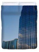 Glass Buildings Nashville Duvet Cover by Susanne Van Hulst