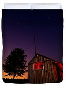 Glowing Shed Duvet Cover by Cale Best